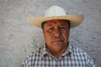 José Luis: no permitiremos la destrucción de nuestro territorio. Fotografía: Heriberto Paredes
