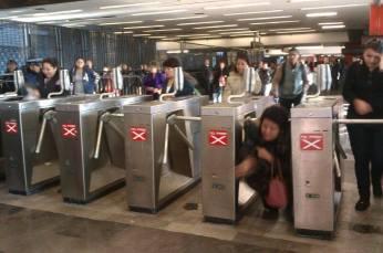 Metro Pantitlán. Fotografía: Rafael Camacho