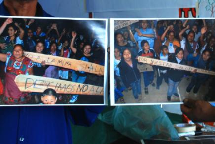 Indígenas zapotecos dicen no a la minería