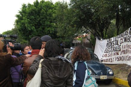 "Mario González agredido por autoridades de ""alta peligrosidad"""