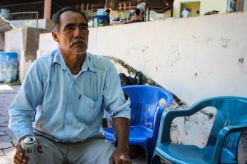 Un comunero nos expresa su molestia ante la contaminación de las aguas en la región. Fotografía: Heriberto Paredes