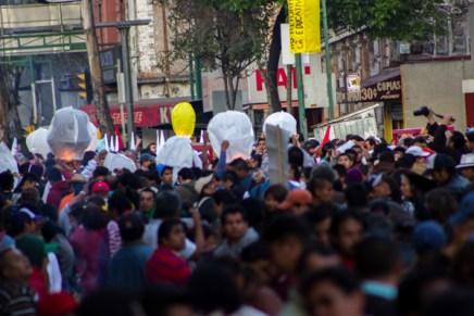 #17EMx Primera jornada de protestas 2014