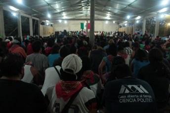 El auditorio de Roberto Barrios a reventar.