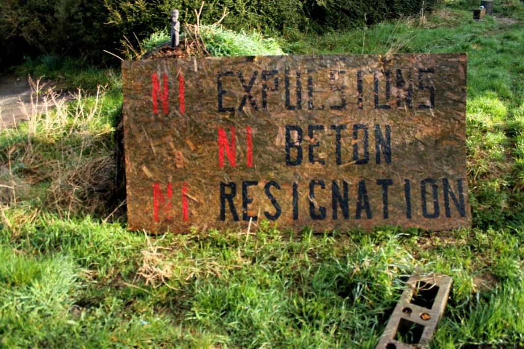 """""""Ni expulsiones, ni hormigón, ni resignación"""""""