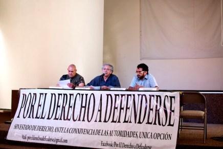 Presentan grupo: «Por el derecho a defenderse»