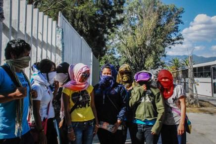 Normalistas por la educación radicalizan acciones en Oaxaca