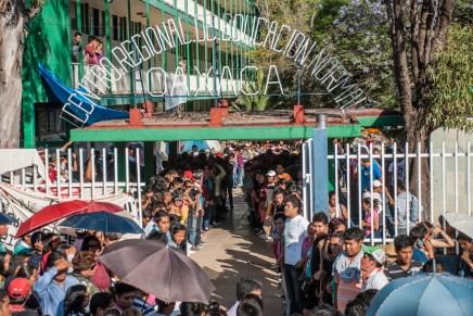Oaxaca: la reforma educativa y la represión a los normalistas