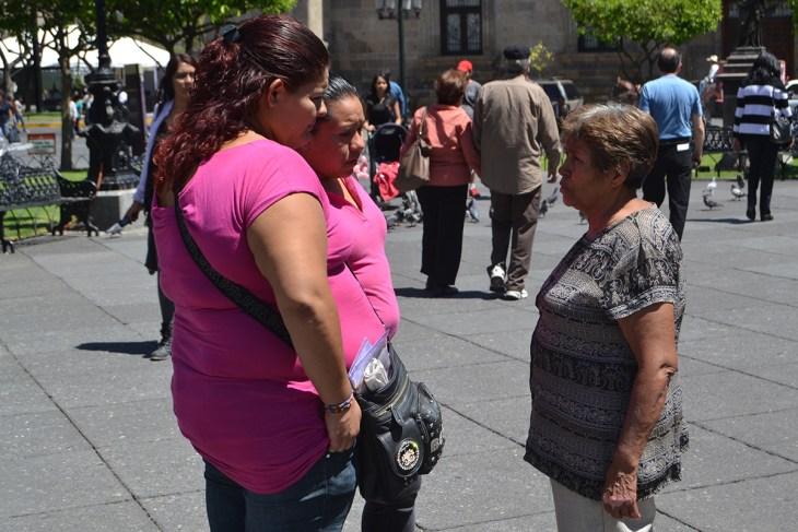 Marichuy informa las afectaciones de las presas; fotografía por Colectivo TAPATISTA.