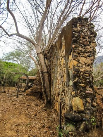 Muro de la hacienda