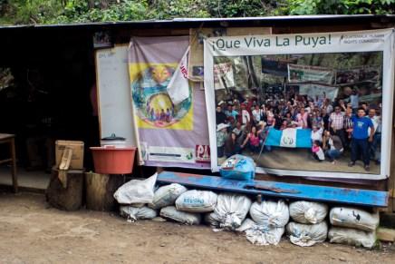 ¿Qué pasa en La Puya? Sobre los caminos de la resistencia pacífica