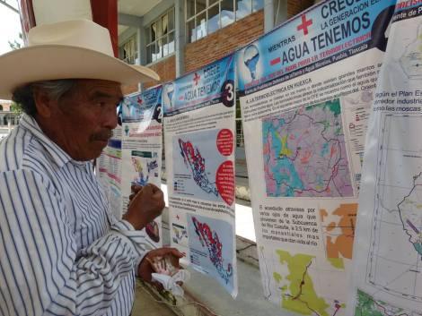 A pesar de la oposición de las comunidades, los gobiernos estatales de los tres partidos políticos pretenden avanzar con el Megaproyecto.  Foto: Lucero Mendizábal