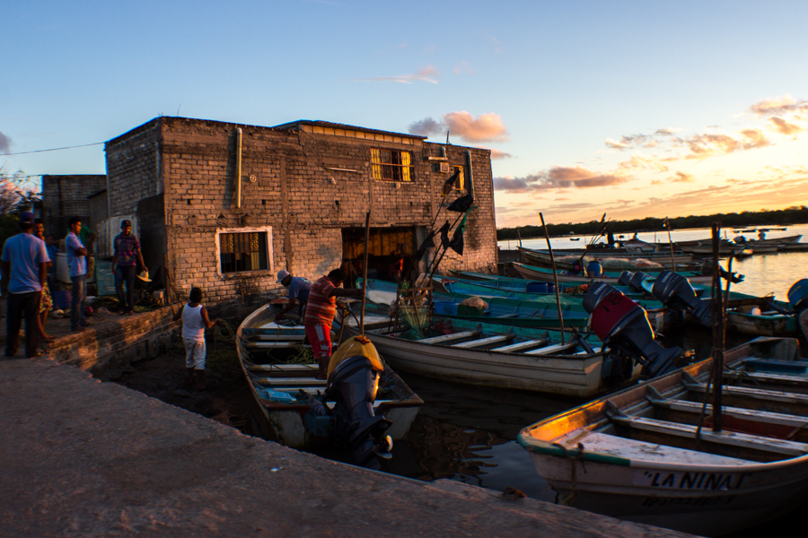 Boca nació en la década de los cincuentas del siglo pasado y desde siempre se ha mantenido totalmente de la pesca.