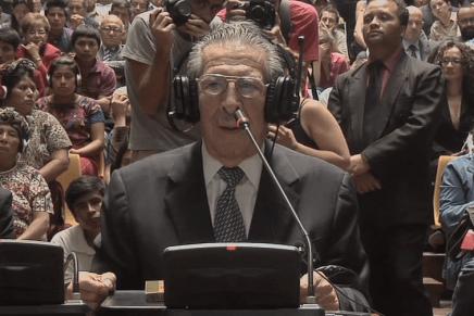 Efrain Ríos Montt, impunidad total a un año de sentencia por genicidio