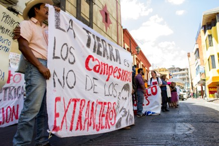 Movilización nacional por presos políticos defensores de la Tierra y el Agua