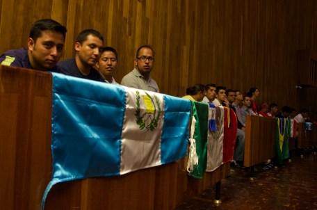 Ningún ser humano es ilegal, distintas nacionalidades ponen su esperanza en común. Foto: Amaranta Marentes