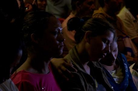 Comparten la fe. Foto: Amaranta Marentes