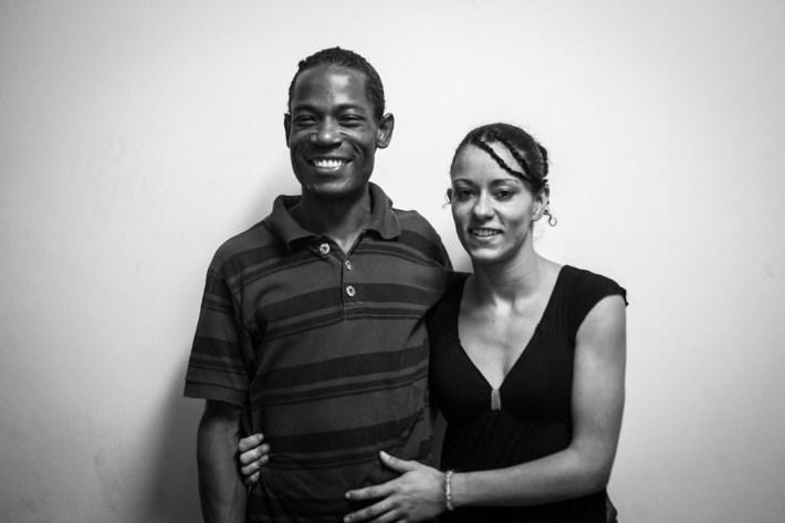 Willians y Rafaela. Fotografías: Heriberto Paredes