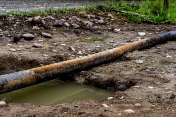 Oleoductos que pasan por la comunicad de Villagarzón en el Putumayo, comunidades se manifiestan en contra por las afectaciones sufridas.