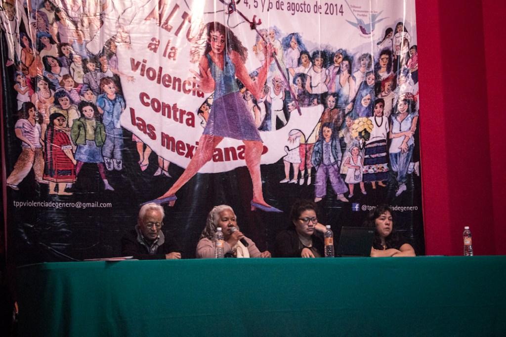 Exposición de casos en Ciudad de México. Foto: Elis Monroy