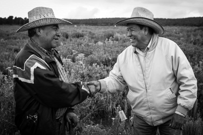 La unidad entre las 60 comunidades está generando no sólo un bloque de defensa del volcán y del territorio, además se está pensando en el rescate de las identidades indígenas que aún se mantienen fuertes en la región. Fotografía: Heriberto Paredes
