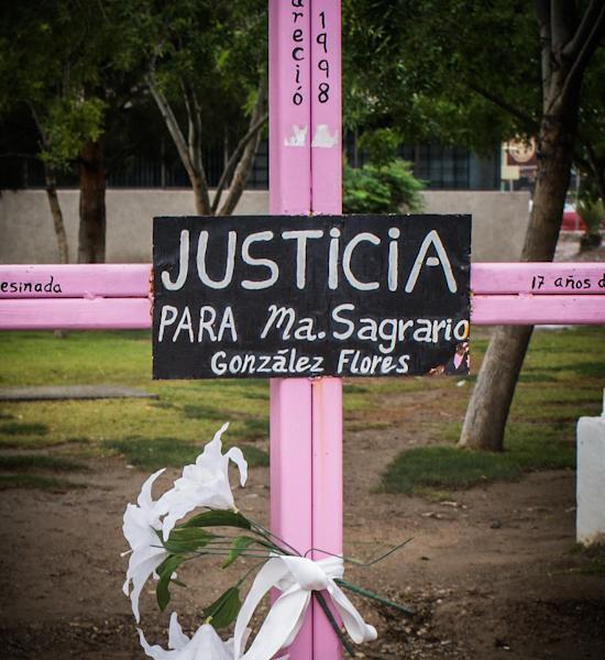 Los feminicidios continúan sin obtener la justicia que se ha demandado desde hace años. Fotogtrafía: Xilonen Pérez