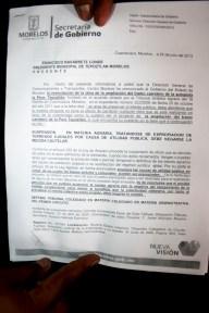 06 Prueba de la complicidad del presidente municipal de Tepoztlán