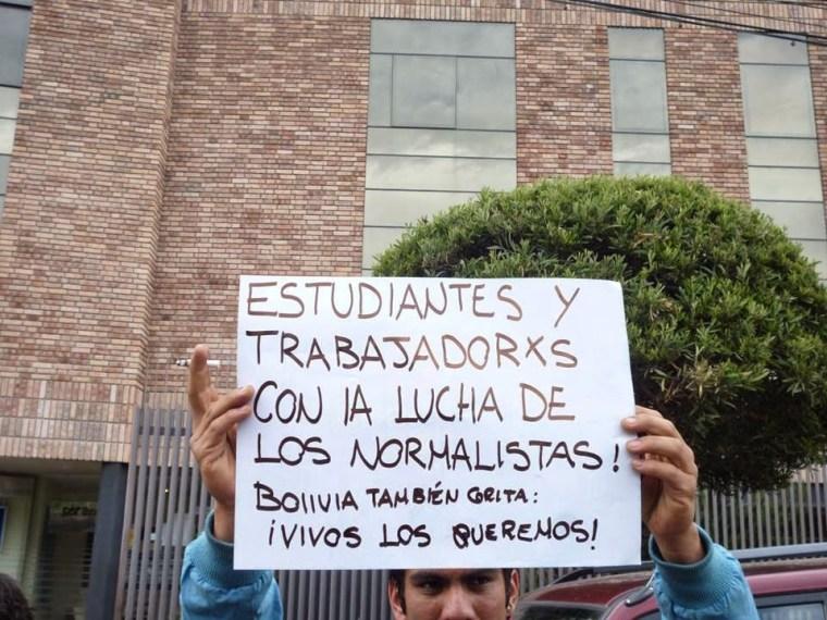 Bolivia también grita. Foto: Chaski Clandestinx