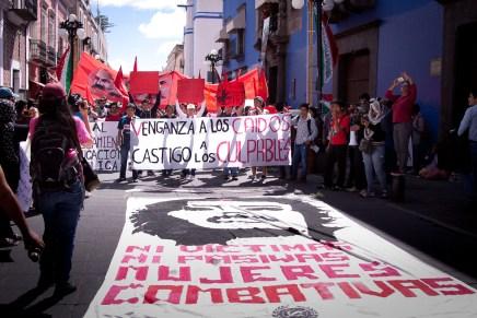 2 de octubre en Puebla: Memoria, solidaridad y repudio
