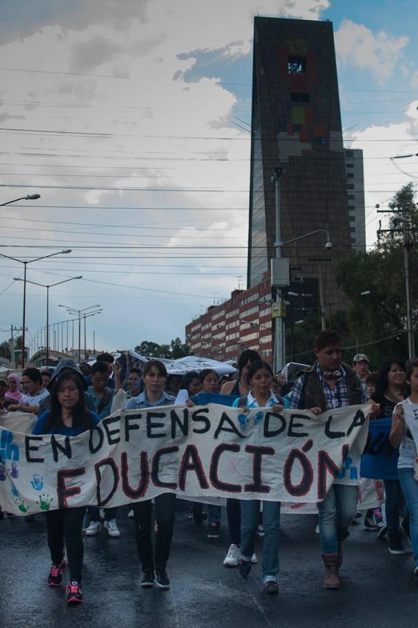 Estudiantes de la UPN enfatizan la importacia de una educación consciente.