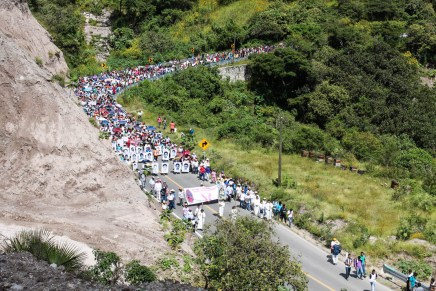 Ayotzinapa Demands Justice One Month After the Disappearances
