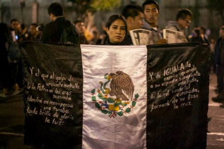 Fragmentos de una jornada de solidaridad global por Ayotzinapa