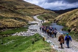 Los llamados Guardianes de las lagunas, presentes en las provincias de Hualgayoc, Celendín y Cajamarca, continúan con el hábito de supervisar las tierras que desde hace tres años rechazan al proyecto Conga de minera Yanacocha.