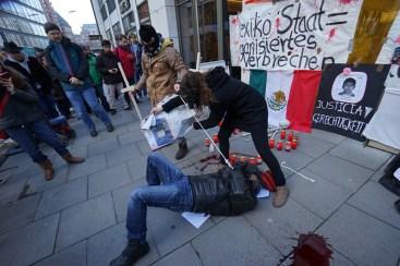 Kollektiv Por Ayotzinapa, Hamburg