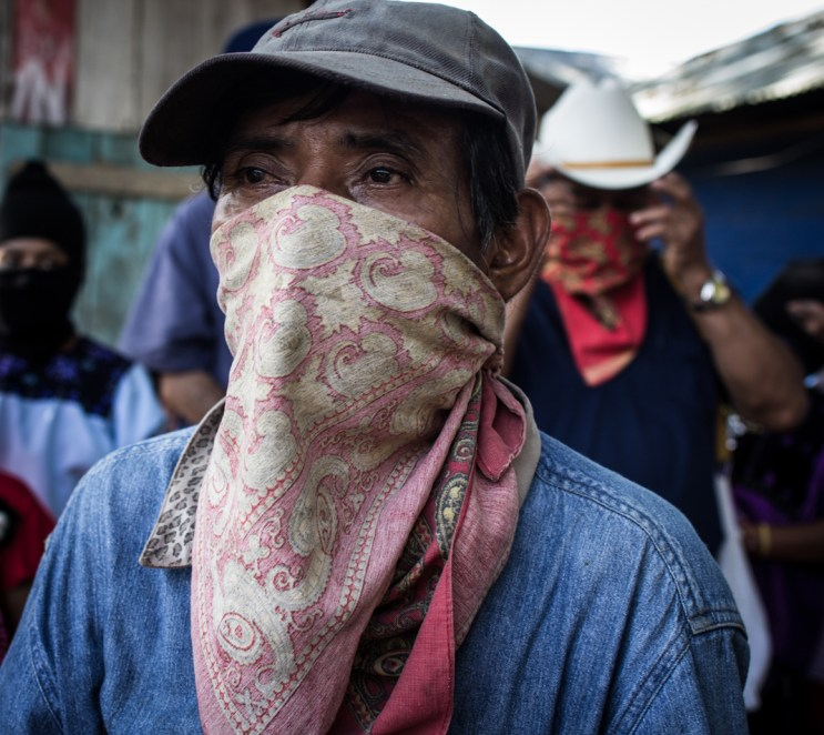 Base de apoyo zapatista. Fotografía: Heriberto Paredes Coronel