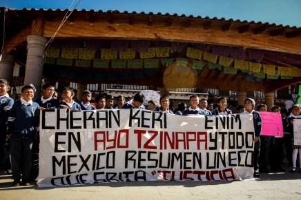 De Cherán a Ayotzinapa, la lucha es de todos