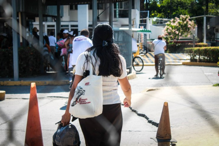 Despedida. Ciudad Hidalgo, Chiapas. Fotografía: Valentina Valle