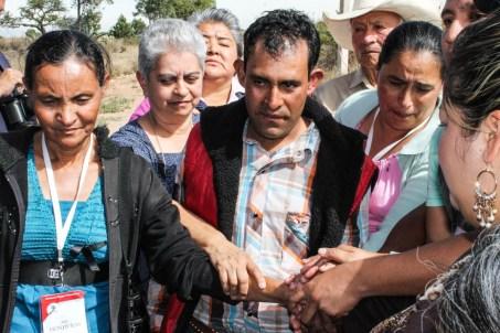 """El """"rescate"""" de Yanel. San Sebastián Tenochitlán, Hidalgo. Fotografía: Valentina Valle"""