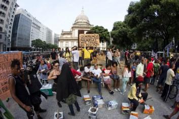 Pese a la brutal represión tan sólo una semana antes, lxs manifestantes respondieron a la convocatoria para salir de nuevo a las calles. Foto: Aldo Santiago