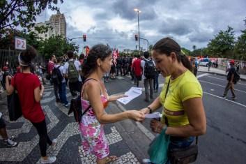 Lxs usuarixs de la Central de Brasil concordaron con la injustic