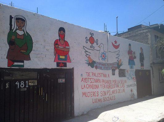 Fotografía: Comunidad Pedregales por Ayotzinapa