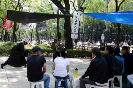 Avenida Reforma fue el escenario