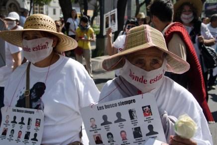 IV Marcha de la Dignidad Nacional: Madres buscando a sus hijxs, verdad y justicia