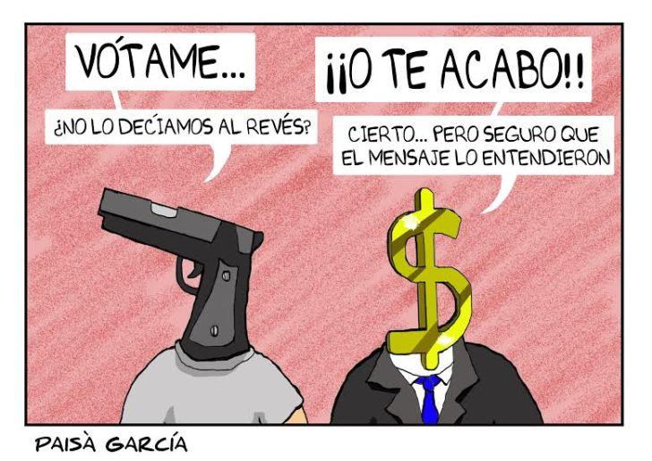 Faltan 4 días para las elecciones en México. El terrorismo de Estado ya se intensificó pero el llamado al boicot electoral también: http://regeneracionradio.org/…/4579-inicia-el-boicot-electo… Hoy, mucha actividad en Puebla, Guerrero, Oaxaca, Estado de México y Veracruz. ¡No nos representan!