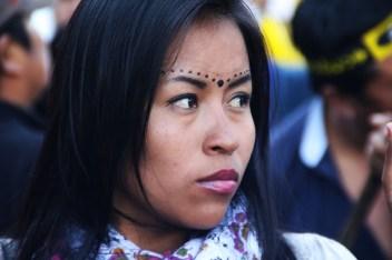 Mujer indígena kiwcha de Sarayaku.