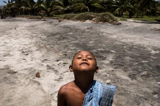 Alex Fernando, habitante de Xayakalan. Fotografía: Regina López