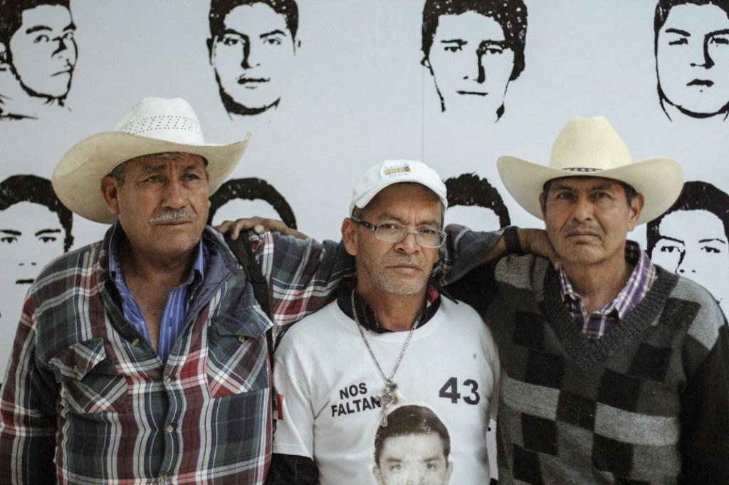 Margarito Guerrero, Mario González y Bernardo Campos. Fotografía: Heriberto Paredes