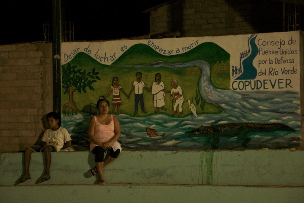 El Consejo de Pueblos Unidos por la Defensa del Río Verde (COPUDEVER) se conformo con más de 43 comunidades afectadas por la Presa Paso de la Reina. Fotografía: Marlene Mondragón