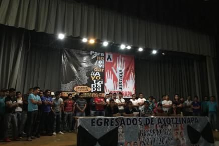 Denuncia la generación de egresados de Ayotzinapa 2011-2015 averiguaciones previas en su contra