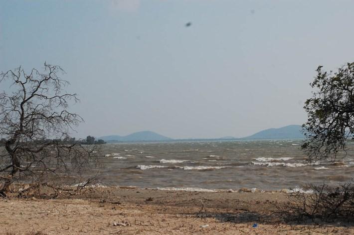 Laguna Superior, un territorio que se vería profundamente afectado por los proyectos eólico de Eólica del Sur. Fotografía: La Pirata