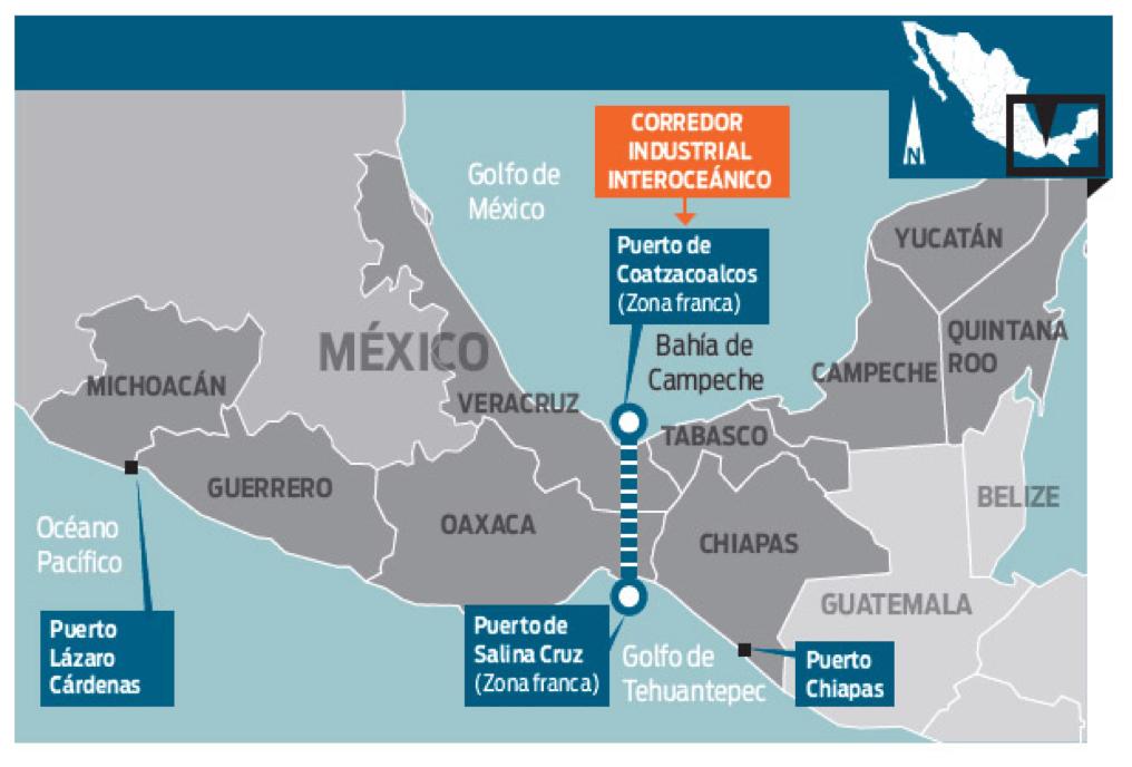 Zonas Económicas Especiales anunciadas. Imagen: